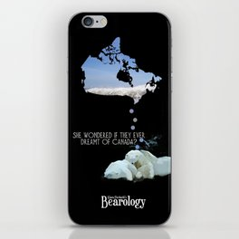 She wondered if they ever dreamt of Canada? iPhone Skin