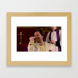 Where Is Your God Now? Framed Art Print