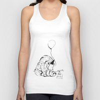birthday Tank Tops featuring Birthday by Emily Stalley