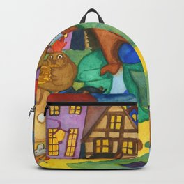 Town Musicians of Bremen Backpack