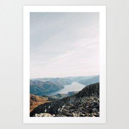 oh so fjordeous Kunstdrucke