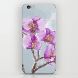 Watercolor Orchids iPhone Skin