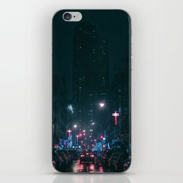 Night Life New York City (Color) iPhone Skin
