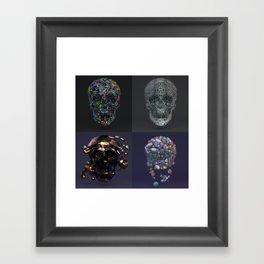 Skull Collection 02 Framed Art Print
