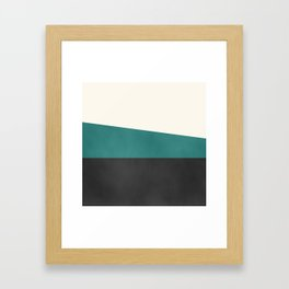 Three colors 3 Framed Art Print