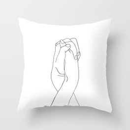 Never Let Me Go II Throw Pillow