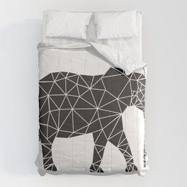 Elephant Angles (Help Save Endangered Elephants) Comforters