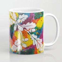 Leaves on the World Tree: Bulgarian Granit Oak Coffee Mug
