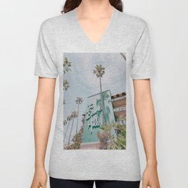 beverly hills / los angeles, california Unisex V-Neck