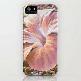 Fantasy Colors Hibiscus Flower Digital Photography iPhone Case
