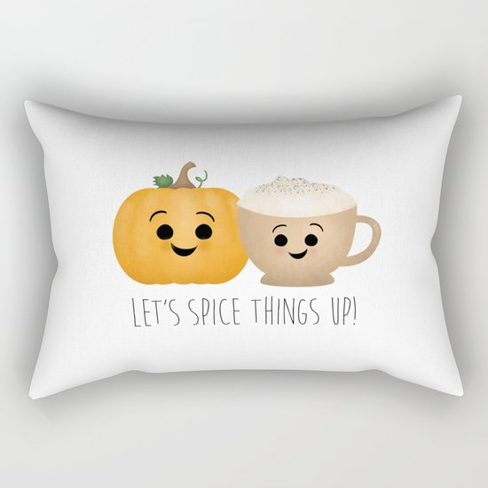 Let's Spice Things Up! Rectangular Pillow