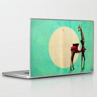 giraffe Laptop & iPad Skins featuring Giraffe by Ali GULEC