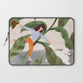 Going On A Walk Laptop Sleeve