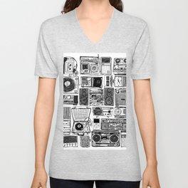 Music Boxes Unisex V-Neck