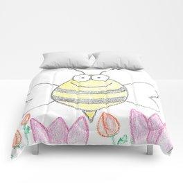 Bee happy Comforters