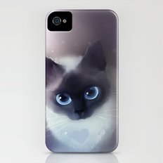 Siamese Cat iPhone (4, 4s) Slim Case