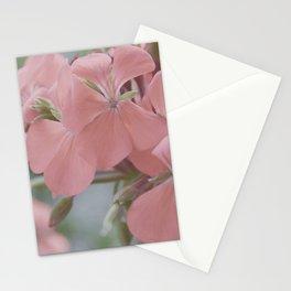 Zonal Pelargonium Neon Pink Stationery Cards