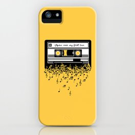 Retro Tape iPhone Case