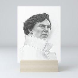 Sherlock Benedict Cumberbatch Mini Art Print