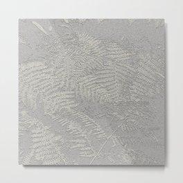 Leaves under the trees Metal Print