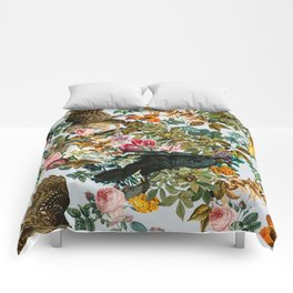 FLORAL AND BIRDS VI Comforters
