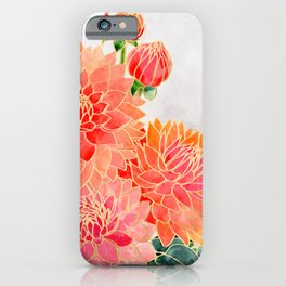 Pacey colorful bouquet iPhone Case