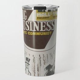 Vintage Poster - Beat Big Business, Vote Communist (1975) Travel Mug