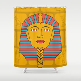 Egyptian Prince Shower Curtain