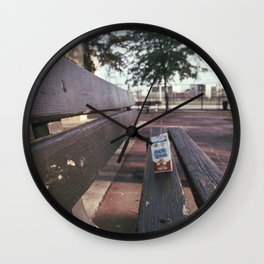 arctic trash Wall Clock