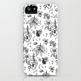 In honor of the Gods a mix of laurel hyacinth tobacco and ohia lehua iPhone Case