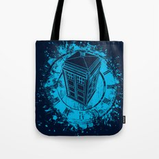 Tardis lost in space and time Tote Bag