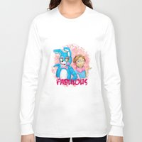 pewdiepie Long Sleeve T-shirts featuring fabulous! by Maria Daregin