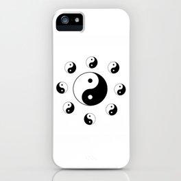 Yin and Yang 18- Tao,Zen,Taoism,Dao,Harmony,religion,buddhism,buddhist,taijitu,taiji,taoist,china iPhone Case