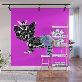Cougar del mar ecopop Wall Mural