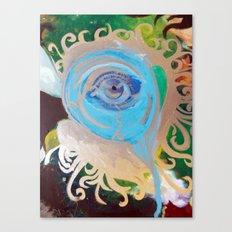 Intro-psychedelic eye Canvas Print