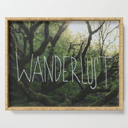 Wanderlust Serving Tray