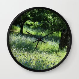 Greenery Wall Clock