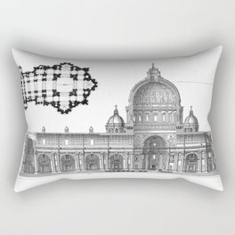 St. Peter Basilica - Rome, Italy Rectangular Pillow