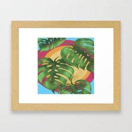 Tropical splendour Framed Art Print