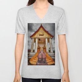 Somdet Temple Unisex V-Neck