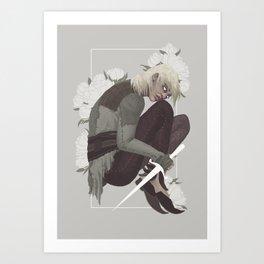 THE FORGOTTEN BOY OF THE WHITE SPIRE Art Print