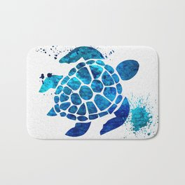 Sea Turtle 015 Bath Mat