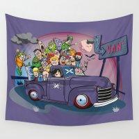 van Wall Tapestries featuring Van by manuvila