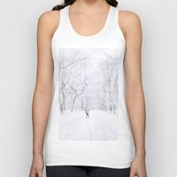 central park Tank Tops featuring Central Park  by Vivienne Gucwa