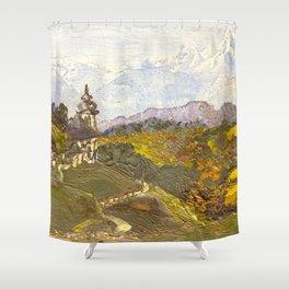 Alpine Autumn Shower Curtain