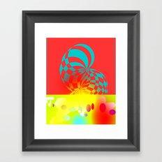 Twisted Invert Framed Art Print