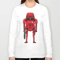 marijuana Long Sleeve T-shirts featuring Marijuana trooper by kakin