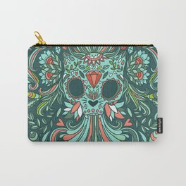 Calavera Cat Carry-All Pouch