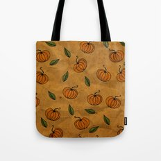 Autumn Texture Tote Bag