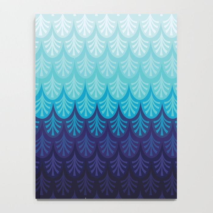 Arctic Ombre! Notebook